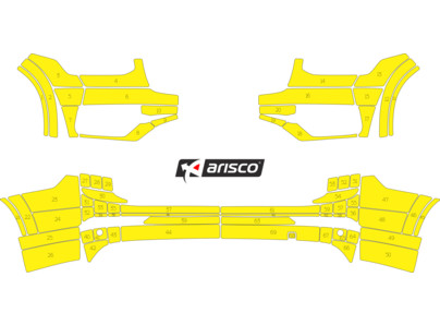 Arisco Bumpers Volvo XC90 Avery Prismatic T7513 Yellow FPS   RPS